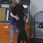Alivia & Spartan our newest dog team needing donations at Paws for Life