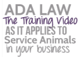 ADA Law-The Training Video |Educate all Businesses on how to comply with ADA Law