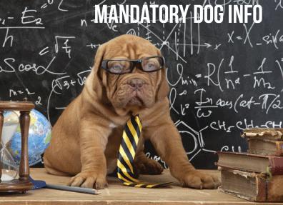 Animals Deserve Better| Paws for Life Georgia Service Dog Training Mandatory Dog Info
