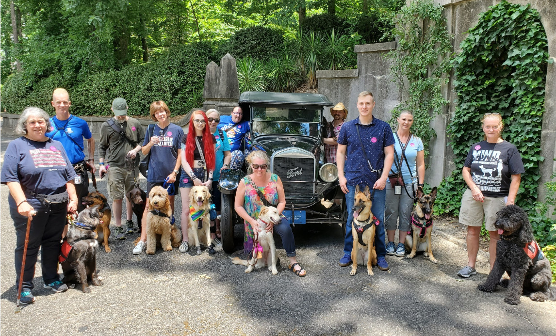 Animals Deserve Better Paws for Life Service Dog Training at the Atlanta History Museum 2019