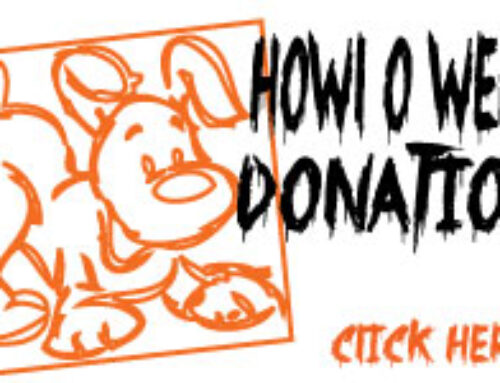 HOWL O WEEN DONATION
